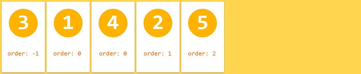 flexbox-order