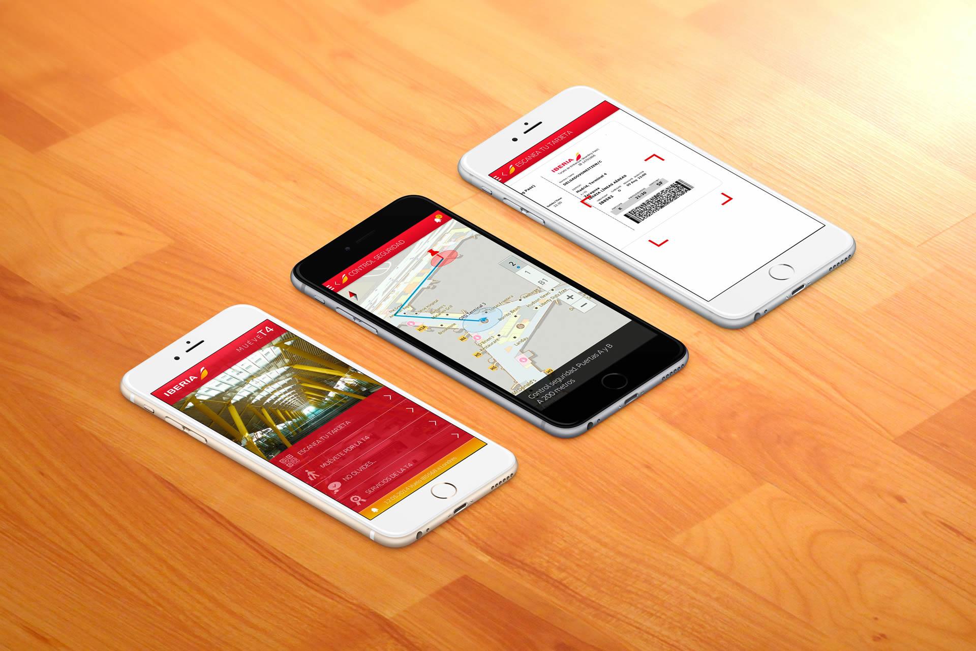 App Iberia T4. BABELcreativa