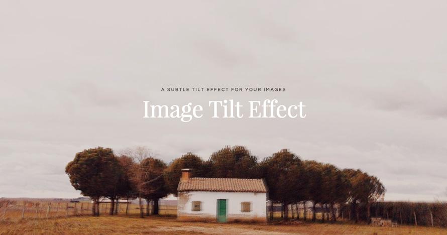 Efecto inclinacion para imágenes