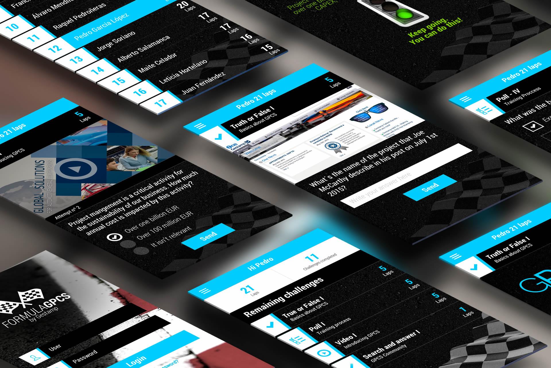Gestamp - GPCS - App Mobile showcase