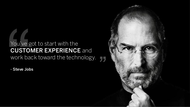 customer experience steve jobs