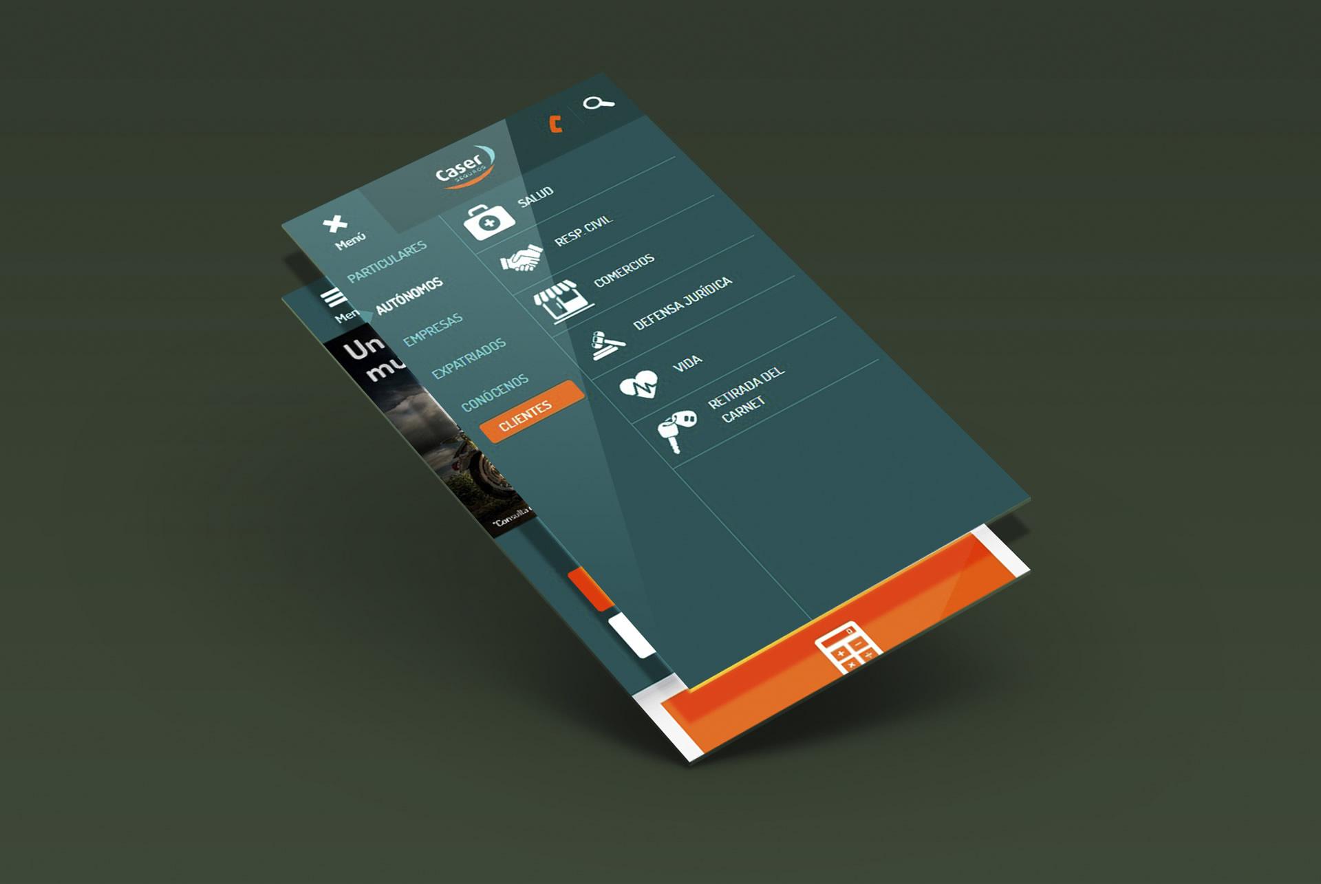Caser web responsive web design mobile. BABEL
