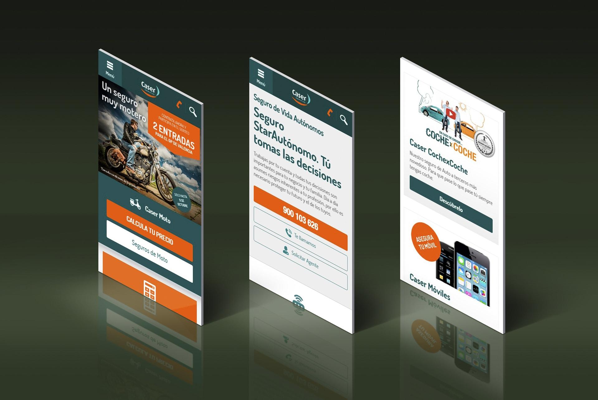 Caser web responsive web design mobile simulador seguro. BABEL