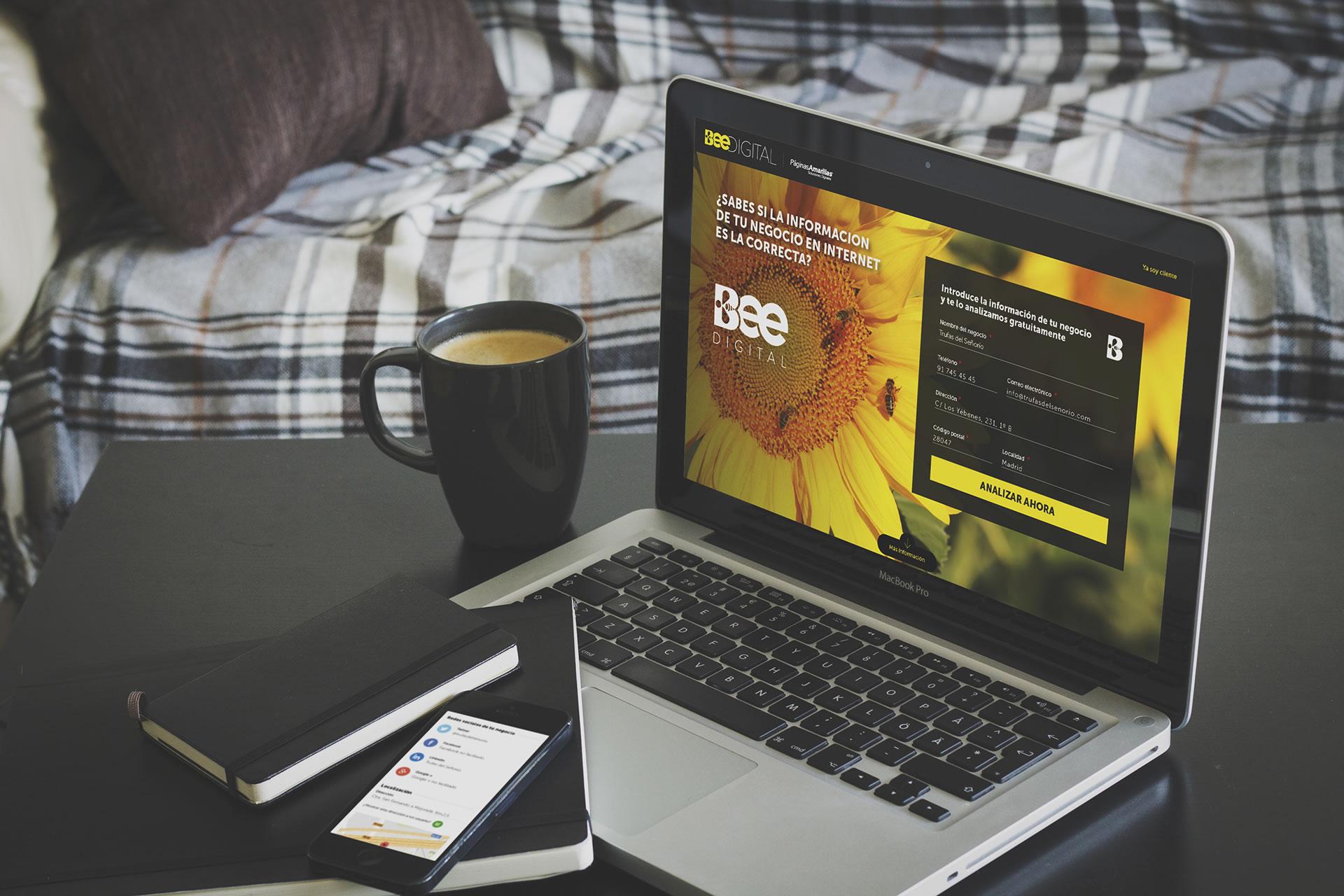 Paginas Amarillas. Área de Empresas. Beedigital BABEL
