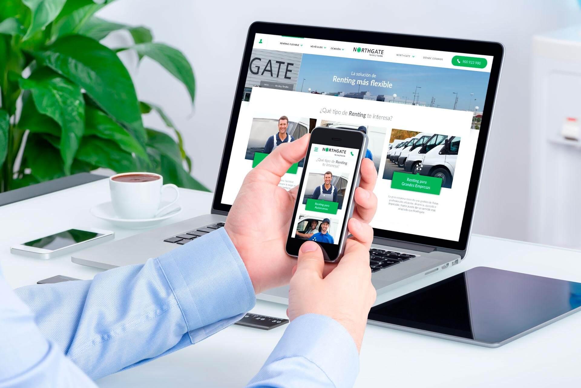 Renting Flexible. Northgate desktop