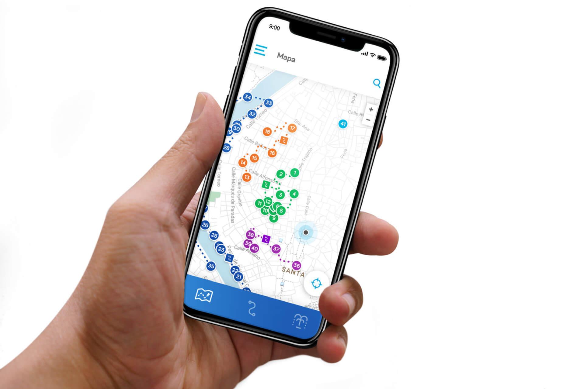 Emasesa-BABEL. App móvil de la Ruta del Agua en Sevilla