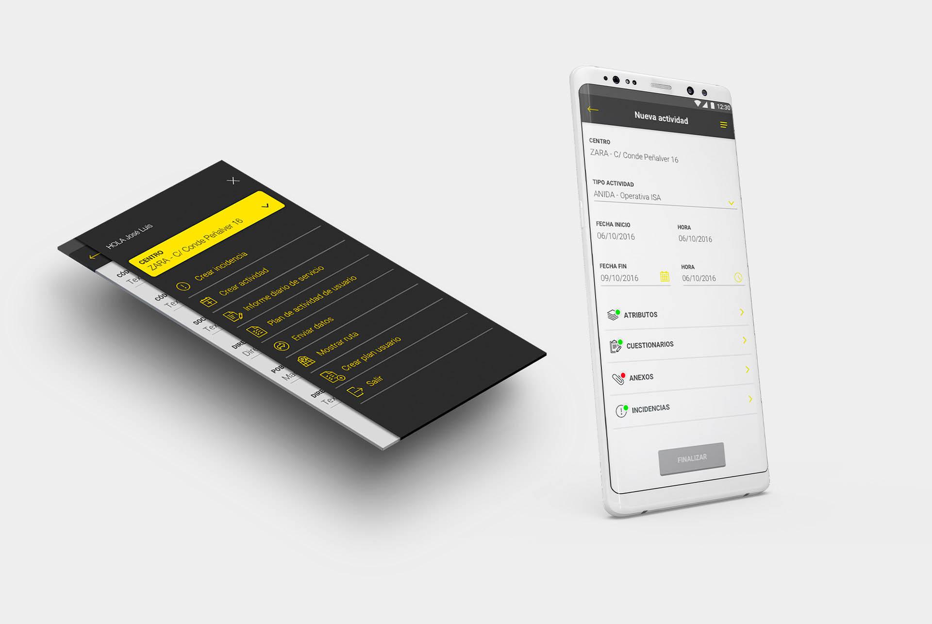 Prosegur. Sistema Opera App BABEL II